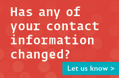 Has your information changed?