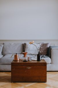 Westoba Home Equity Loans Coffee Table in front of a couch