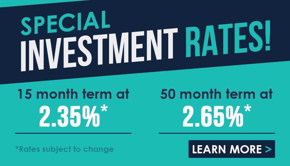 Westoba Special Investment Rates