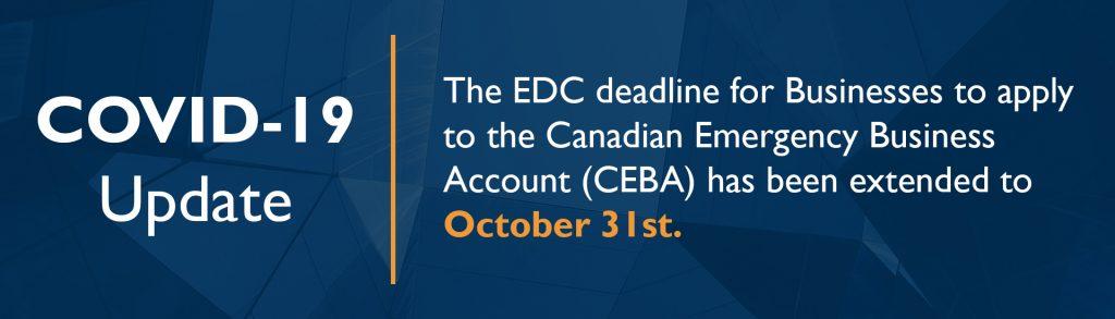 Covid 19 update for CEBA