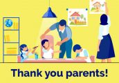 Thank You Parents! Back to school giveaway.