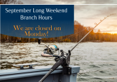 September Long Weekend Hours, We Are Closed on Monday