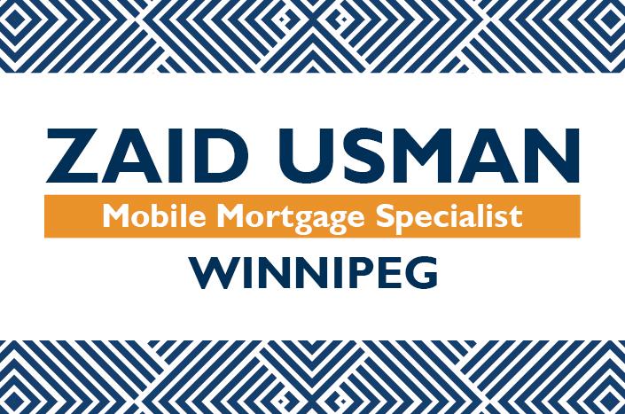 Zaid Usman, Mobile Mortgage Specialist Winnipeg