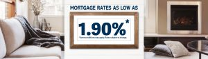 Mortgage Rates As Low As 1.90%*