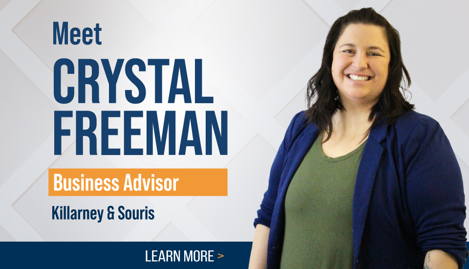 Business Advisor, Crystal Freeman