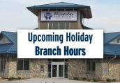 Westoba Branch Hours for Louis Riel Day