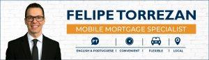 Westoba Mobile Mortgage Specialist Felipe Torrezan in black suit