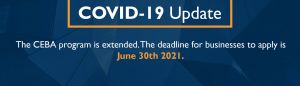 CEBA Update - Extended until June 30th, 2021