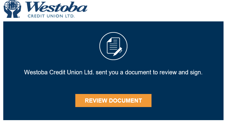 Docusign Email