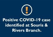 Positive case of COVID-19 in Souris and Rivers District